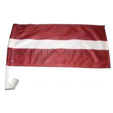 Latvijas Valsts karogs automašīnai ar stiprinājumu
