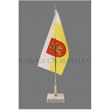 Pašvaldību individuāla dizaina galda karodziņš (14 X 28cm) bez statīva