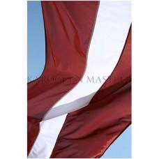 Latvijas valsts suvenīra karodziņš (24X48cm)